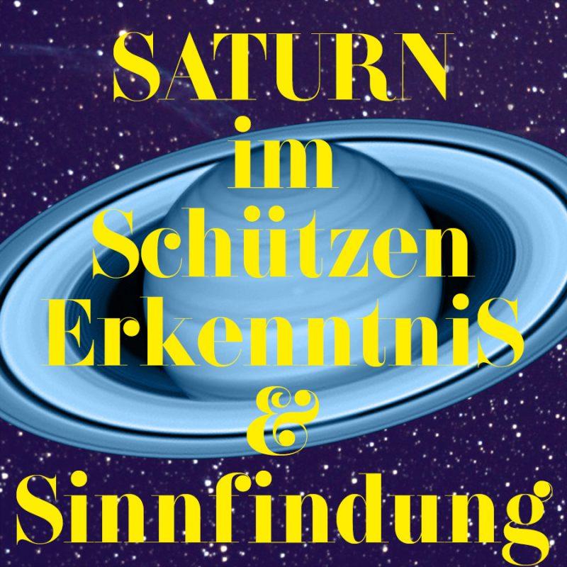 Saturn im Schützen, Illustration und Copyright Claudia Hohlweg für Blumoon