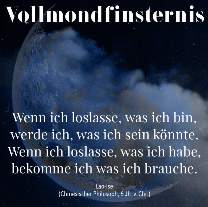 Vollmondfinsternis Illustration und Copyright Claudia Hohlweg für Blumoon