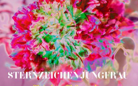 Sternzeichen Jungfrau, Illustration und © Claudia Hohlweg für Blumoon