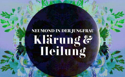 Neumond in der Jungfrau, Illustration und © Claudia Hohlweg für Blumoon