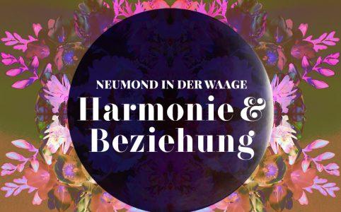 Neumond in der Waage, Illustration und © Claudia Hohlweg für Blumoon