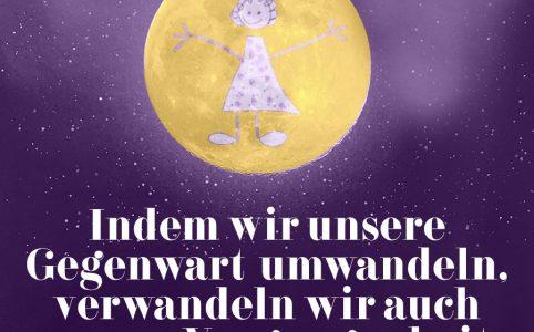 Vollmond im Krebs, Illustration und © Claudia Hohlweg für Blumoon