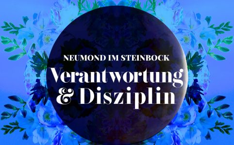 Neumond im Steinbock, Illustration und © Claudia Hohlweg für Blumoon