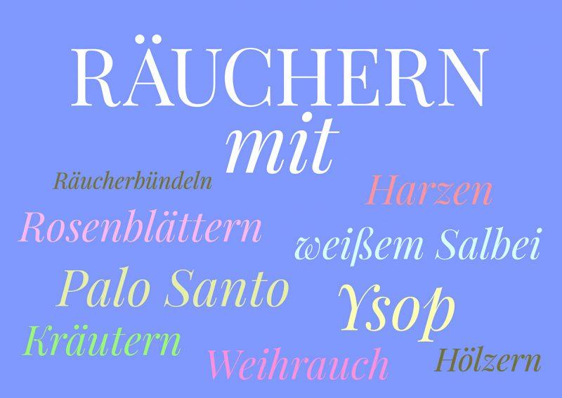 Räucherwerk, Illustration und © Claudia Hohlweg für Blumoon