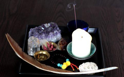 Ritual für Neumond und Vollmond, Illustration und © Claudia Hohlweg für Blumoon