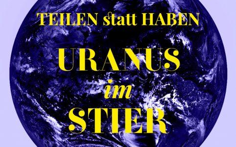 Uranus im Stier, Illustration und © Claudia Hohlweg für Blumoon