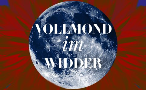 Illustration für den Widder-Vollmond