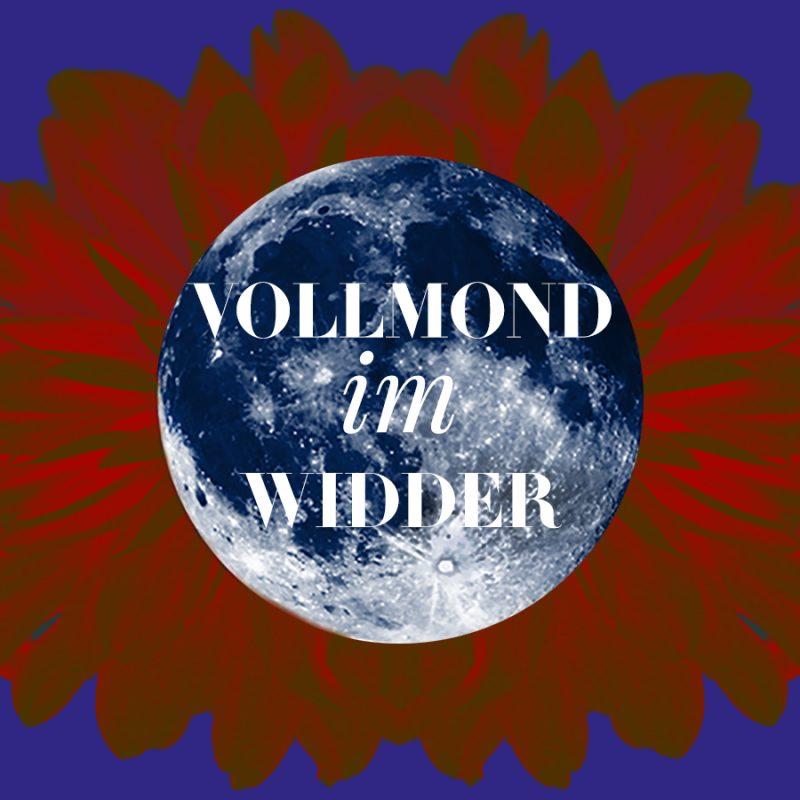 Illustration für den Widder-Vollmond