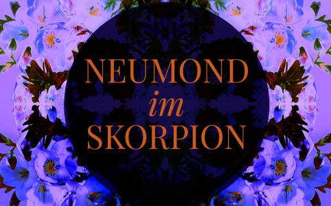Farbige Illustration zum Skorpion-Neumond