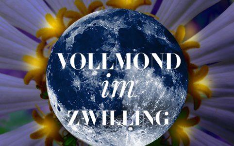 Illustration zum Zwilling-Vollmond