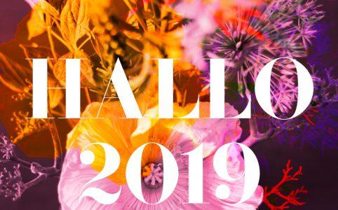 Farbige Illustration für die astrologische Vorschau 2019