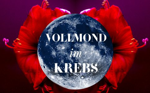 Illustration für den Krebs-Vollmond