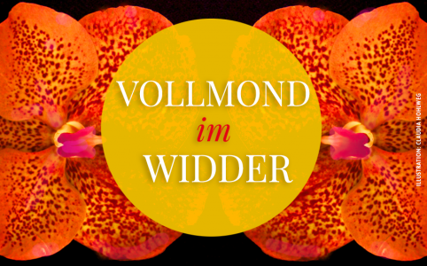 Illustration für den Vollmond im Widder