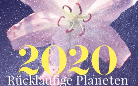 Illustration für die rückläufigen Planeten 2020